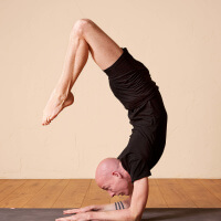 Olav Aarts Hatha Yoga Vrschikasana